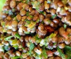 Puy - Salade originale de France ( Französischer Linsensalat aus der Auvergne)