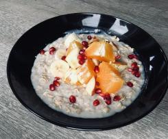 Porridge/Haferbrei mit Obst