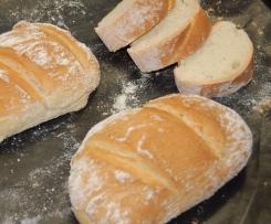 Baguette mit einfachen Mitteln