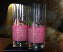 Rote-Bete-Radieschen-Sahne im Glas