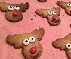 Rudolph Kekse *Haselnussplätzchen*