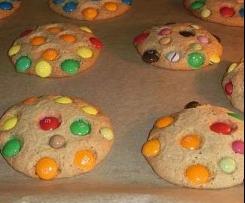 Smartie m&m Cookies