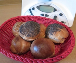 Frühstücksbrötchen *RUCKZUCK* ohne Gehen lassen