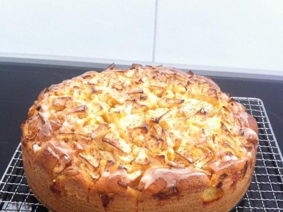 Apfel Kokos Kuchen Von Mone Bohne Ein Thermomix Rezept Aus Der