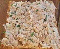 Thunfisch Dip oder Brotaufstrich