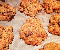Vegane Carrot Cake Cookies