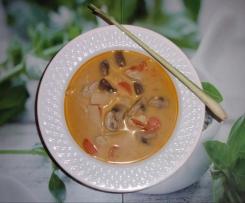 Tom Kha Gai - Hühnersuppe mit Kokosmilch (Thailand)