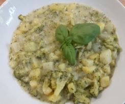 Gemüse-Kartoffel-Eintopf mit Mandelmus