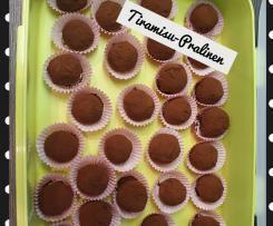 Tiramisu-Pralinen - echt lecker!!!