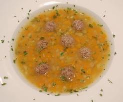 Möhren-Zucchini-Kartoffel-Suppe