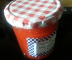 Paprika-Peperoni-Marmelade