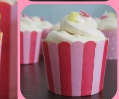 Vanilla-Cupcakes mit weißer Schokolade & Kokos