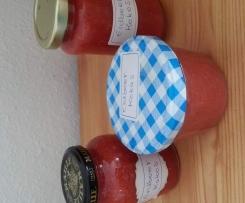 Erdbeer- Kokos- Marmelade