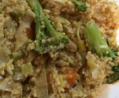 Quinoa Gemüse Hirsotto