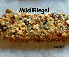 Müsli-Früchte-Stangen