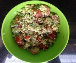 Quinoa-Salat mit Feta