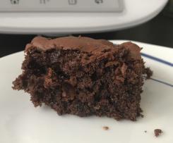 Schokoladenblechkuchen sehr beliebt