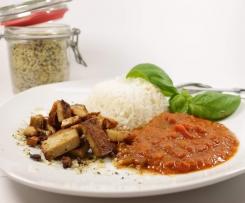 Knochenlos kochen Gulasch vegetarisch