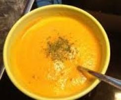Weltbeste Karotten-Ingwer Suppe
