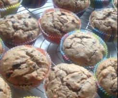 Erdnussbutter-Schoko-Muffins