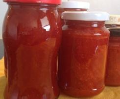 Erdbeere- Orangen- Marmelade