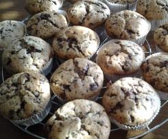 Schoko-Vanille Muffins