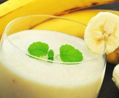 Klassischer Bananenshake