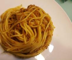 Spaghetti Bolognese Ragout