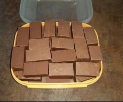 Hausschokolade siebenbürgischer Art