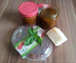 Tomaten - Basilikum Pesto