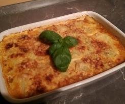 Bolognese-Kartoffel Gratin