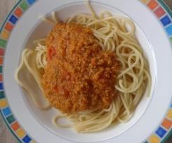 Kürbis-Bolognese
