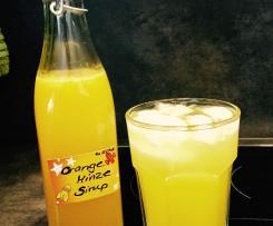 Orangen Sirup
