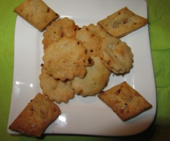 Tomaten-Rosmarin-Cracker