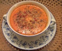 Paleo - Variation von Schnelle Cremige Tomaten-Kokossuppe