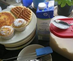 Universalbackmischung für Waffeln, Pancakes, Muffins usw.