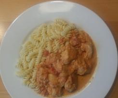 Gorgonzolaschnitzel