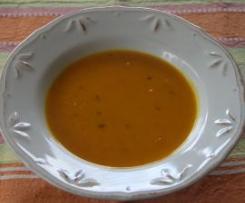 Hokkaido Kürbissuppe