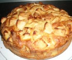 Variation von Kalorienarmer Apfelkuchen