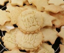 Butterplätzchen - Weihnachtsplätzchen nach Großmutters Rezept