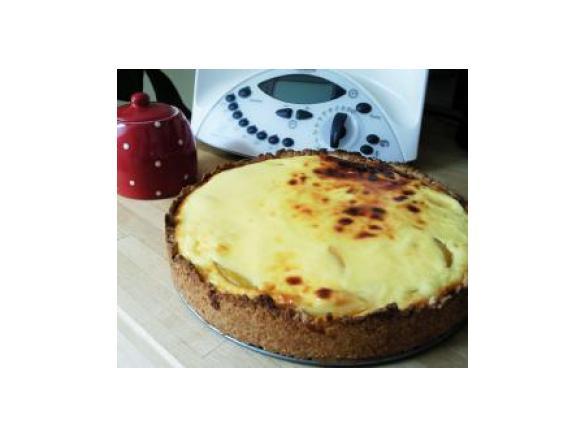 Pfirsich Schmand Kuchen Von Ela Sc Ein Thermomix Rezept Aus Der