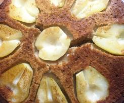 Birnen-Rührkuchen