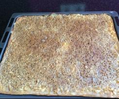 Apfel-Nuß-Kuchen vom Blech