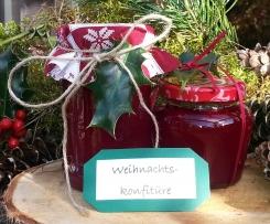 """Weihnachtskonfitüre """"Mein Wintertraum"""""""