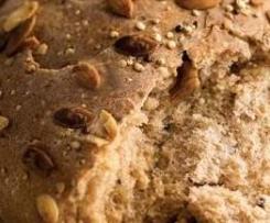 Amaranth-Dinkel-Brot mit Goji-Beeren