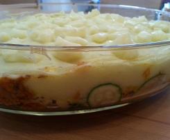 Hack-Kartoffel-Gemüse-Auflauf