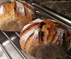 Brot Oscar Mischbrot mit Sesam und Leinsamen