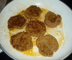 Frikadellen, spez. für Hamburger
