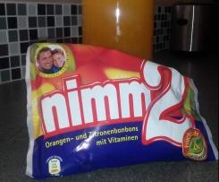 Nimm2-Likör (passend für 1L-Flasche)