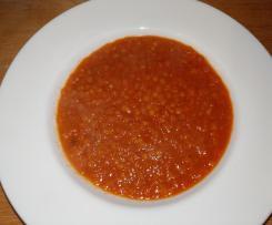 Rote Linsen Ratatouille (vegan)